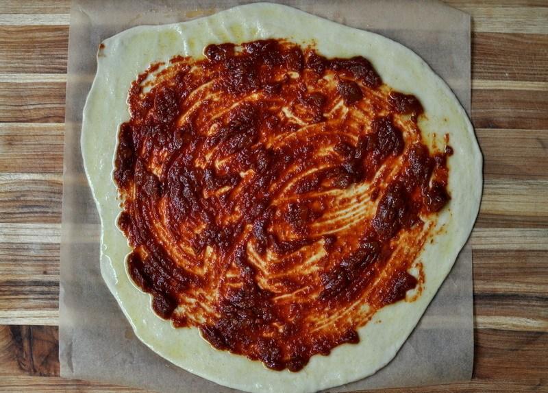 Quick, Thin-Crust Pizza